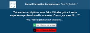 VAE : votre expérience vaut diplôme !